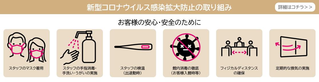 感染防止への取組み