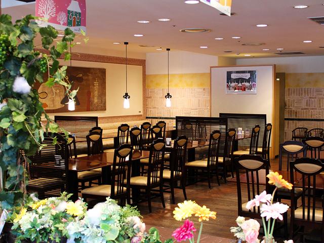 レストラン「カランドリエ」