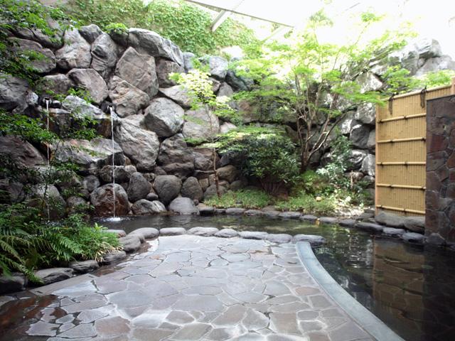 温泉大浴場・露天風呂・サウナ